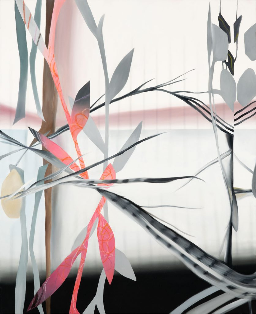 Fiona Ackerman, Sleepwalk, oil on canvas, 66 x 54 in
